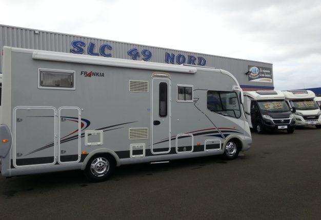 frankia i 680 bd occasion de 2009 fiat camping car en vente avrille maine et loire 49. Black Bedroom Furniture Sets. Home Design Ideas
