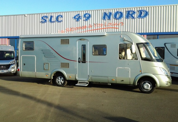hymer s 800 occasion de 2007 mercedes camping car en vente avrille maine et loire 49. Black Bedroom Furniture Sets. Home Design Ideas