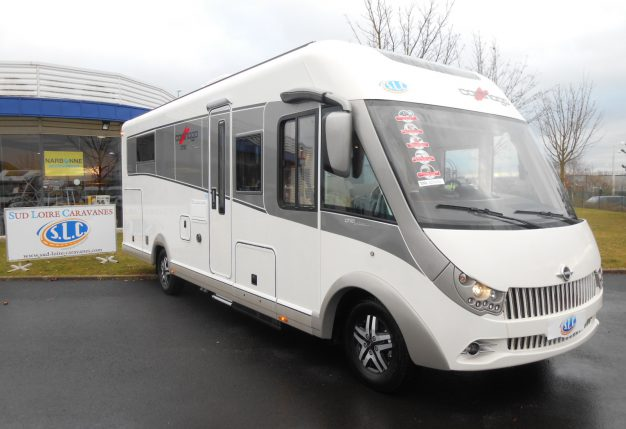carthago chic e line 51 neuf de 2017 fiat camping car en vente fontenay sur eure eure et. Black Bedroom Furniture Sets. Home Design Ideas