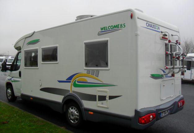 chausson welcome 85 occasion de 2006 fiat camping car en vente fontenay sur eure eure et. Black Bedroom Furniture Sets. Home Design Ideas