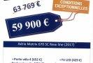 achat camping-car Adria Matrix 670 Sc New Line Edition