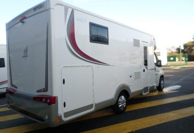 rapido 690 ff neuf de 2017 fiat camping car en vente la bazoge sarthe 72. Black Bedroom Furniture Sets. Home Design Ideas