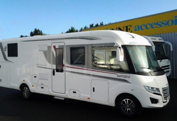 rapido distinction i 190 neuf de 2018 fiat camping car. Black Bedroom Furniture Sets. Home Design Ideas