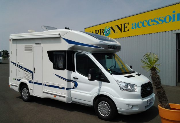 Innovative Chausson Flash 510 Occasion De 2015 - Ford - Camping Car En Vente Montreuil - Juign Angers ...