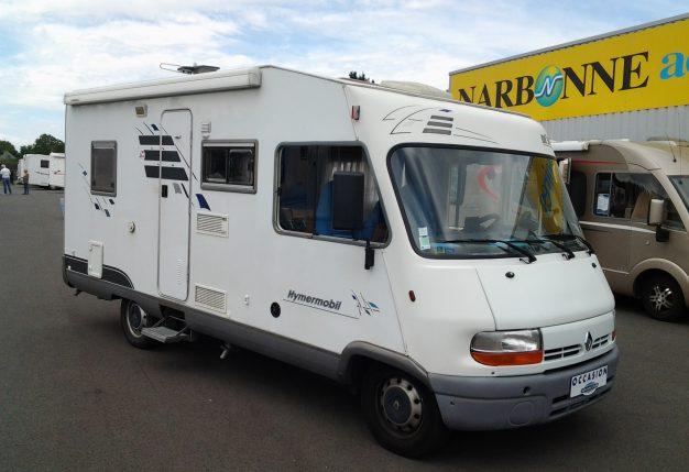 hymer br 598 occasion de 2001 renault camping car en. Black Bedroom Furniture Sets. Home Design Ideas