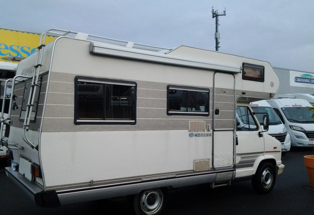 Hymer camp occasion de 1991 citroen camping car en vente montreuil juign angers maine et - Garage citroen montreuil ...
