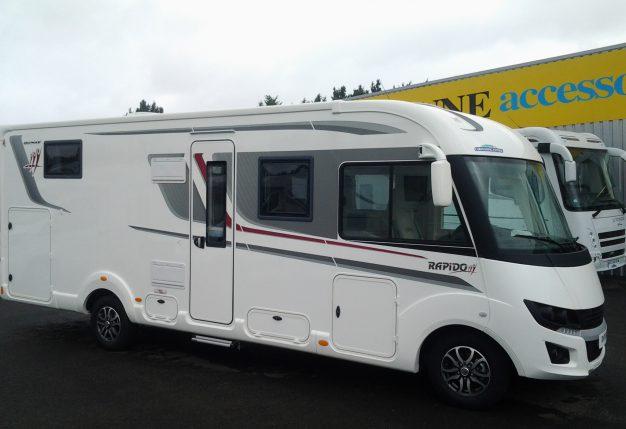 rapido 8096 df premium edition neuf de 2018 fiat camping car en vente montreuil juign. Black Bedroom Furniture Sets. Home Design Ideas