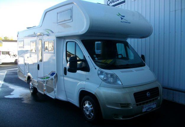 autostar auros 41 occasion de 2007 fiat camping car en vente cholet maine et loire 49. Black Bedroom Furniture Sets. Home Design Ideas