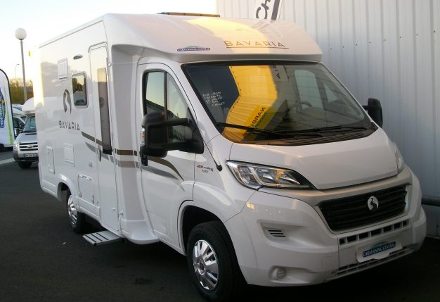 bavaria t 600 p neuf de 2018 fiat camping car en vente cholet maine et loire 49. Black Bedroom Furniture Sets. Home Design Ideas