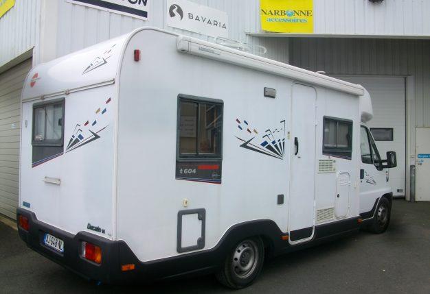 burstner harmony t 604 occasion de 1998 fiat camping car en vente cholet maine et loire 49. Black Bedroom Furniture Sets. Home Design Ideas