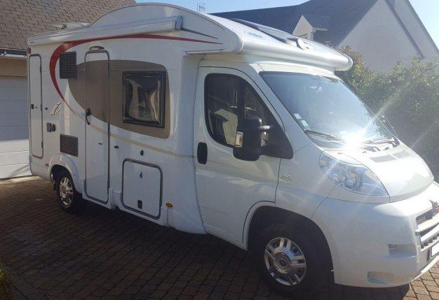 burstner it 590 occasion de 2013 fiat camping car en vente cholet maine et loire 49. Black Bedroom Furniture Sets. Home Design Ideas