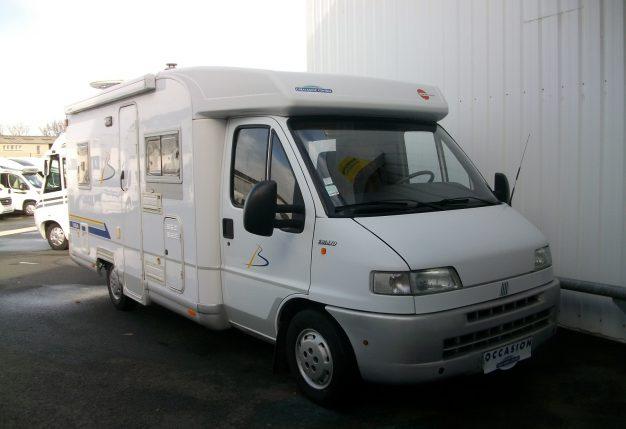 burstner t 604 occasion de 1999 fiat camping car en vente cholet maine et loire 49. Black Bedroom Furniture Sets. Home Design Ideas