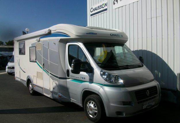 chausson welcome 78 eb occasion de 2011 fiat camping car en vente cholet maine et loire 49. Black Bedroom Furniture Sets. Home Design Ideas