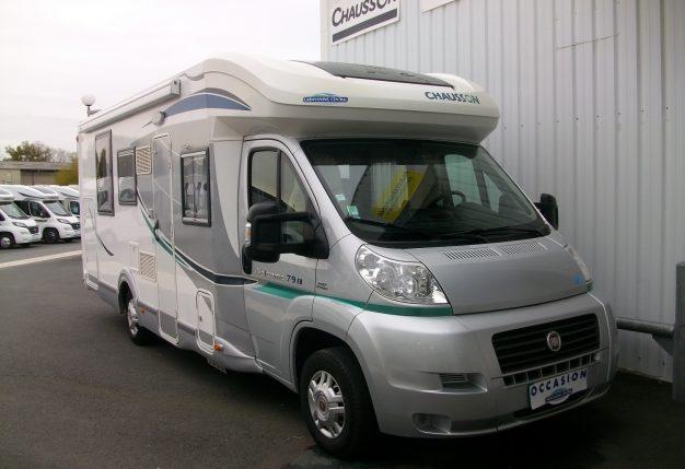 chausson welcome 79 eb occasion de 2012 fiat camping car en vente cholet maine et loire 49. Black Bedroom Furniture Sets. Home Design Ideas
