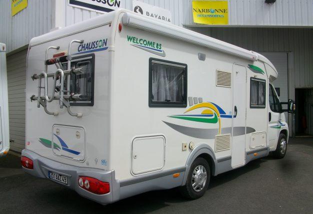 chausson welcome 85 occasion de 2008 citroen camping car en vente cholet maine et loire 49. Black Bedroom Furniture Sets. Home Design Ideas