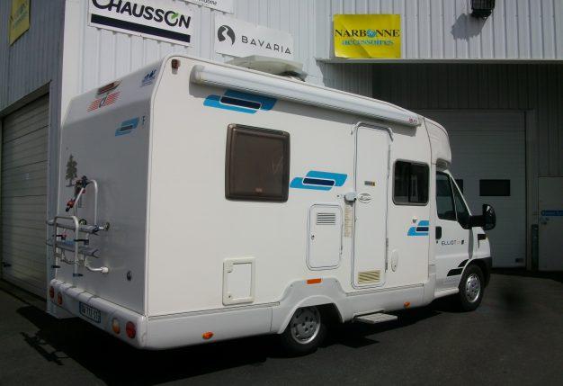 ci elliot 25 p occasion de 2006 fiat camping car en vente cholet maine et loire 49. Black Bedroom Furniture Sets. Home Design Ideas