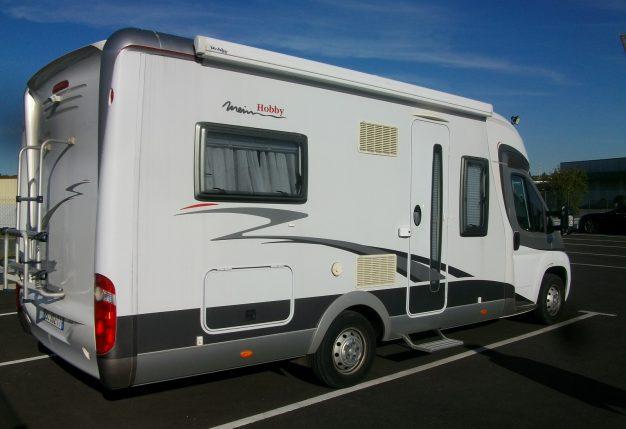 hobby 650 occasion de 2007 fiat camping car en vente cholet maine et loire 49. Black Bedroom Furniture Sets. Home Design Ideas