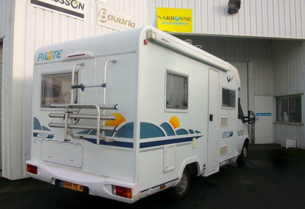 pilote p 6 occasion de 2002 fiat camping car en vente cholet maine et loire 49. Black Bedroom Furniture Sets. Home Design Ideas