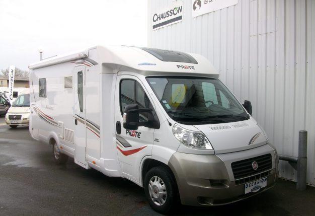 pilote p 730 lc occasion de 2011 fiat camping car en vente cholet maine et loire 49. Black Bedroom Furniture Sets. Home Design Ideas