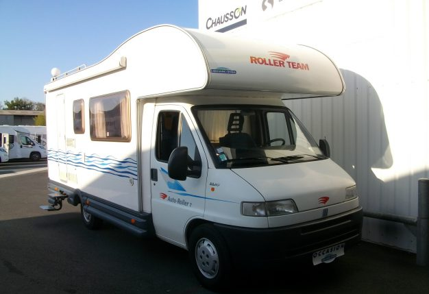 roller team auto roller 7 occasion de 2001 fiat camping car en vente cholet maine et. Black Bedroom Furniture Sets. Home Design Ideas