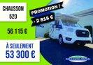 Neuf Chausson 520 vendu par CARAVANING CENTRAL CHARTRES