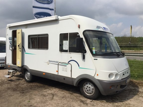 Camping Car Hymer Mobil B Integral Occasion
