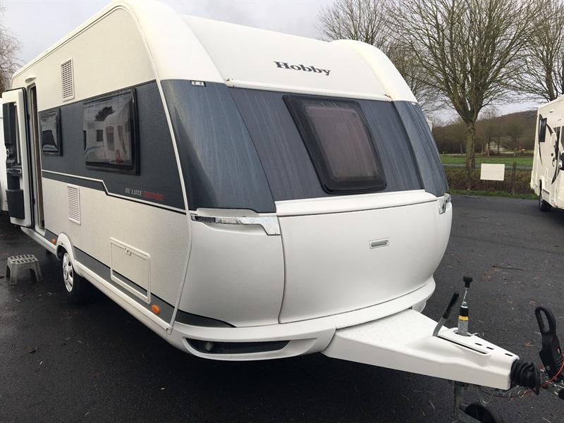 hobby de luxe 495 ul neuf de 2018 caravane en vente. Black Bedroom Furniture Sets. Home Design Ideas