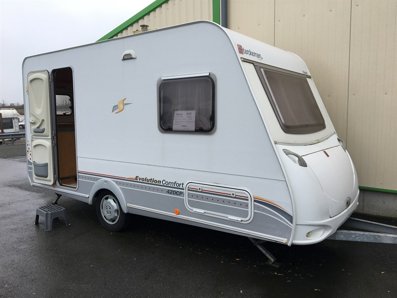 sterckeman 420 cp evolution occasion de 2007 caravane en vente vingt hanaps orne 61. Black Bedroom Furniture Sets. Home Design Ideas