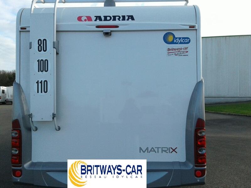 adria matrix 680 sp occasion de 2011 - fiat