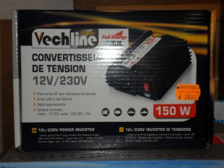 Convertisseur Convertisseur 12/230V 150W