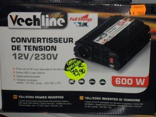 achat Convertisseur 600W vechline CARLOS LOISIRS 91