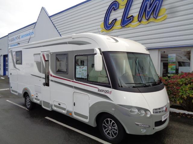 rapido 8096 df neuf de 2017 fiat camping car en vente saint berthevin mayenne 53. Black Bedroom Furniture Sets. Home Design Ideas