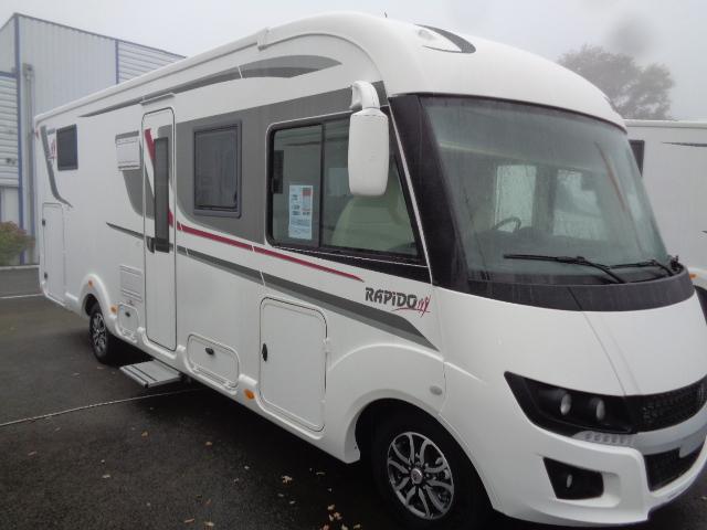 rapido 8096 df neuf de 2018 fiat camping car en vente saint berthevin mayenne 53. Black Bedroom Furniture Sets. Home Design Ideas