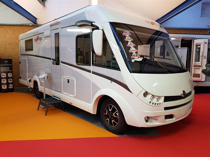 carthago c tourer i 150 neuf de 2018 fiat camping car en vente montfaucon en velay haute. Black Bedroom Furniture Sets. Home Design Ideas