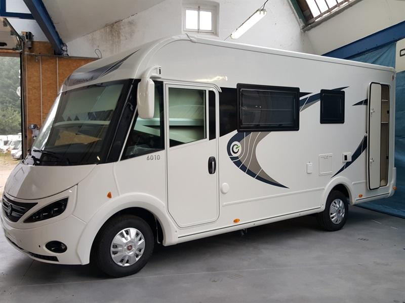 Chausson exaltis 6010 neuf de 2017 fiat camping car en for Garage fiat le puy en velay