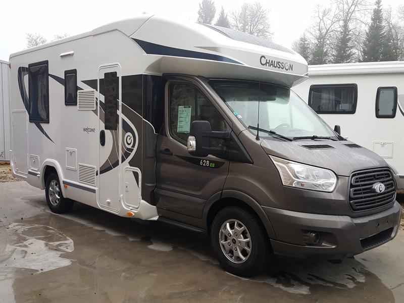 chausson welcome 628 eb neuf de 2017 ford camping car en vente montfaucon en velay haute. Black Bedroom Furniture Sets. Home Design Ideas