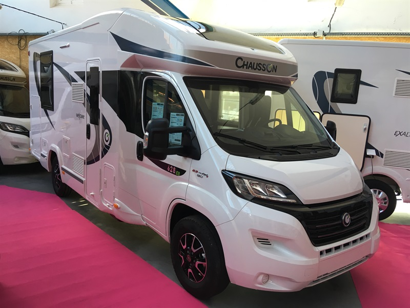 chausson welcome 628 eb neuf de 2018 fiat camping car en vente montfaucon en velay haute. Black Bedroom Furniture Sets. Home Design Ideas