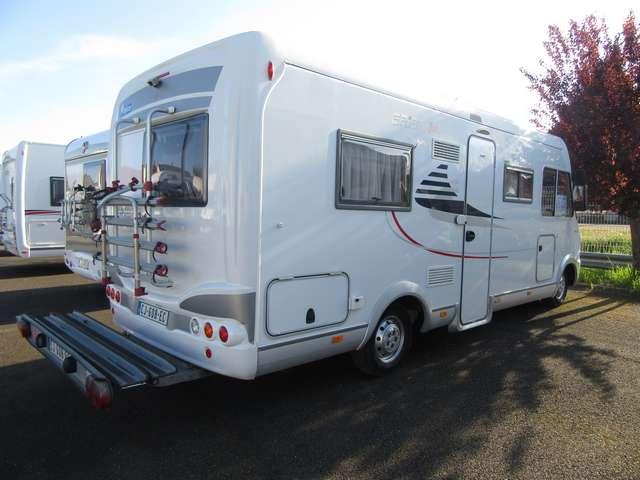 eriba jet 636 occasion de 2008 fiat camping car en vente toulon sur allier allier 03. Black Bedroom Furniture Sets. Home Design Ideas