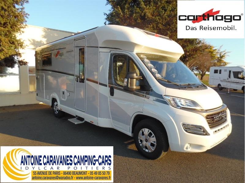 carthago c tourer t 150 neuf de 2017 fiat camping car en vente beaumont vienne 86. Black Bedroom Furniture Sets. Home Design Ideas