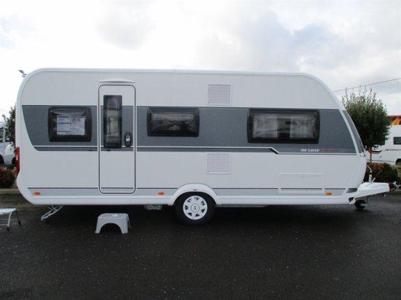 hobby de luxe 495 ul neuf de 2018 caravane en vente la. Black Bedroom Furniture Sets. Home Design Ideas