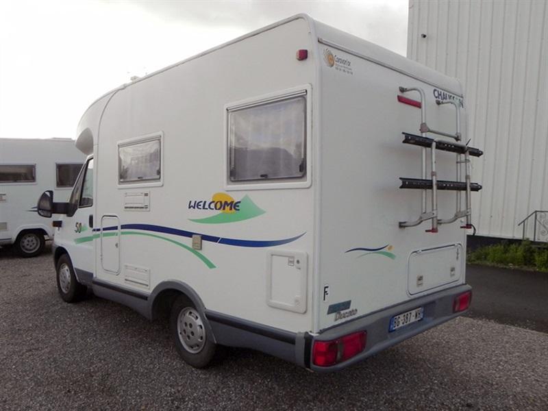 chausson welcome 50 occasion de 2003 fiat camping car en vente seclin nord 59. Black Bedroom Furniture Sets. Home Design Ideas