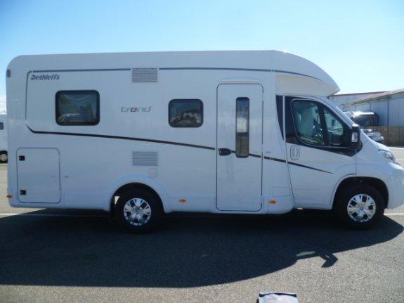 Neuf Dethleffs T 6757dbm vendu par LAURENT CAMPING-CARS