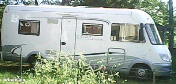 cote argus eriba jet 626 l 39 officiel du camping car. Black Bedroom Furniture Sets. Home Design Ideas