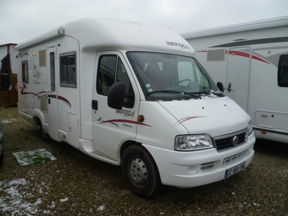 Occasion Rapido 786 C vendu par LAURENT CAMPING-CARS