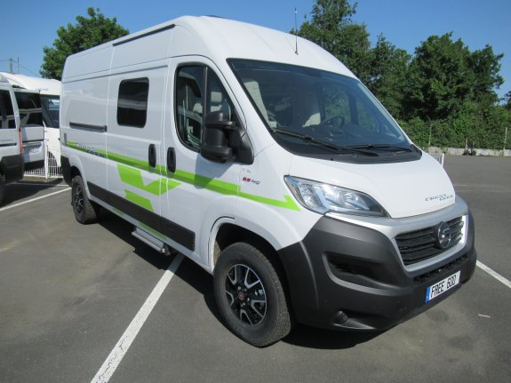 Hymer Camper Vans Free 600 Crossover
