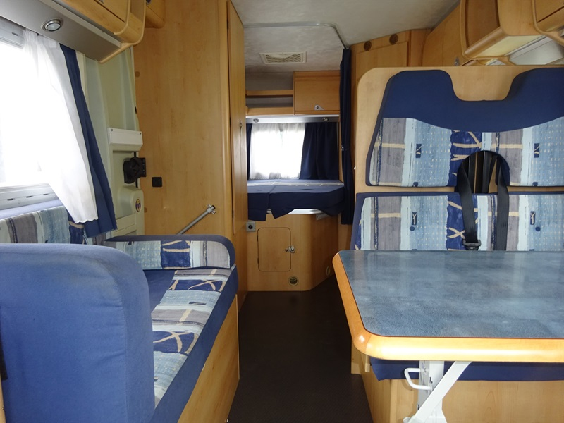 mobilvetta miller occasion de 2005 - fiat - camping car en vente  u00e0 veretz  indre-et-loire