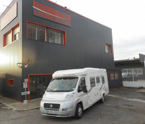Occasion Fleurette Migrateur 73 LJ vendu par OCCITANIE CAMPING-CARS