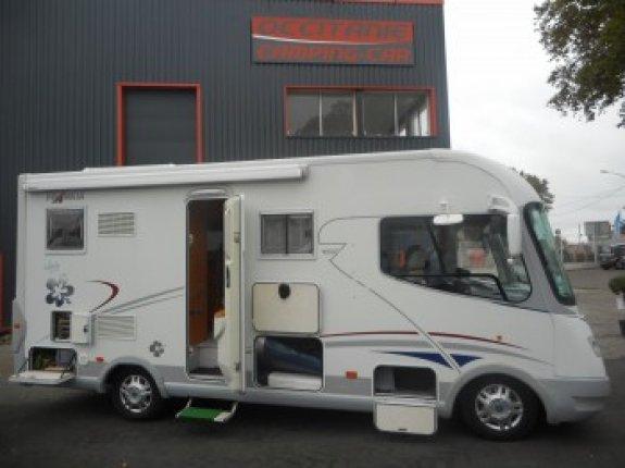 frankia compact class 640 sd occasion de 2008 fiat camping car en vente saint alban haute. Black Bedroom Furniture Sets. Home Design Ideas