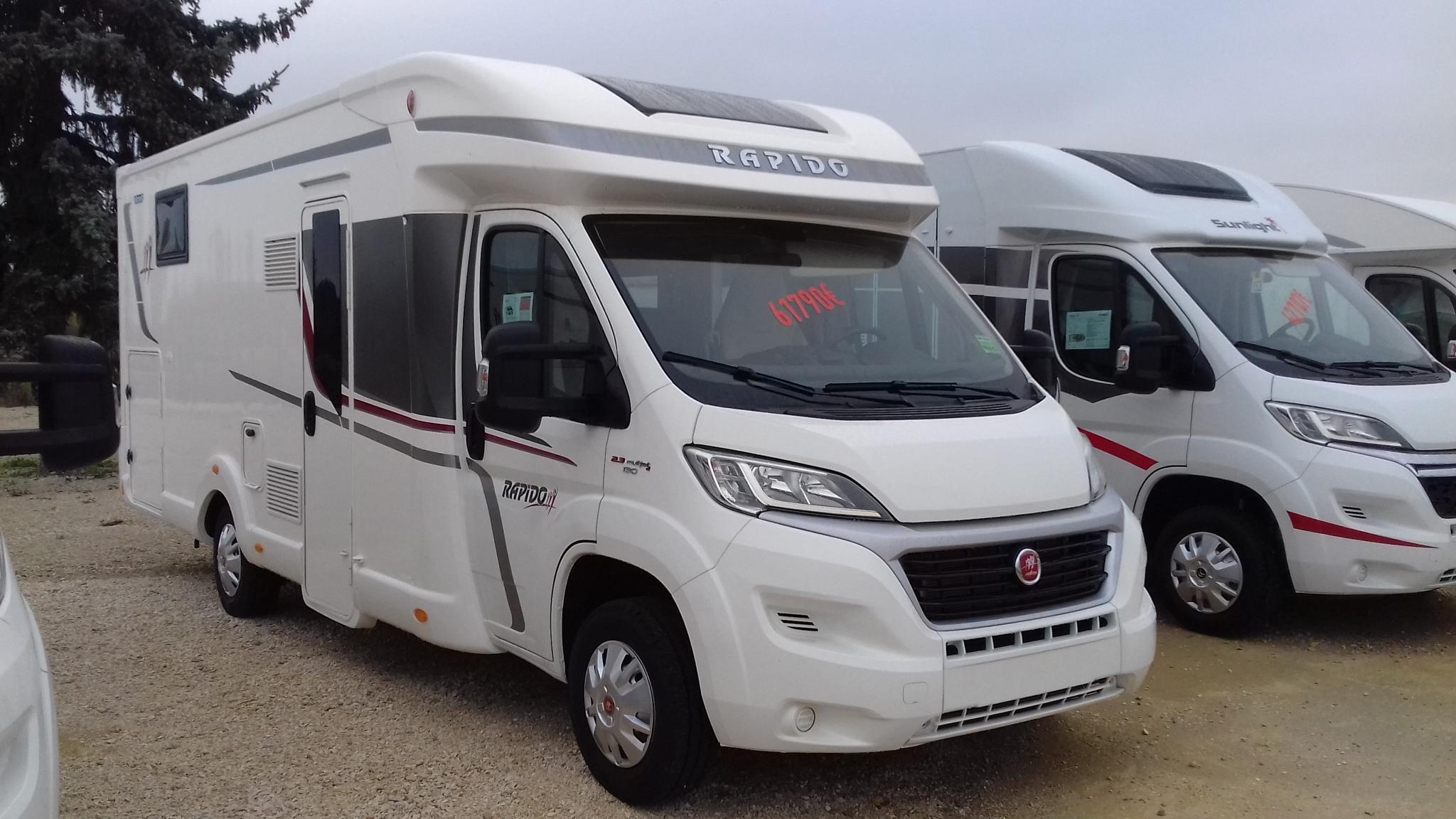 rapido 650 f neuf de 2018 fiat camping car en vente appoigny yonne 89. Black Bedroom Furniture Sets. Home Design Ideas