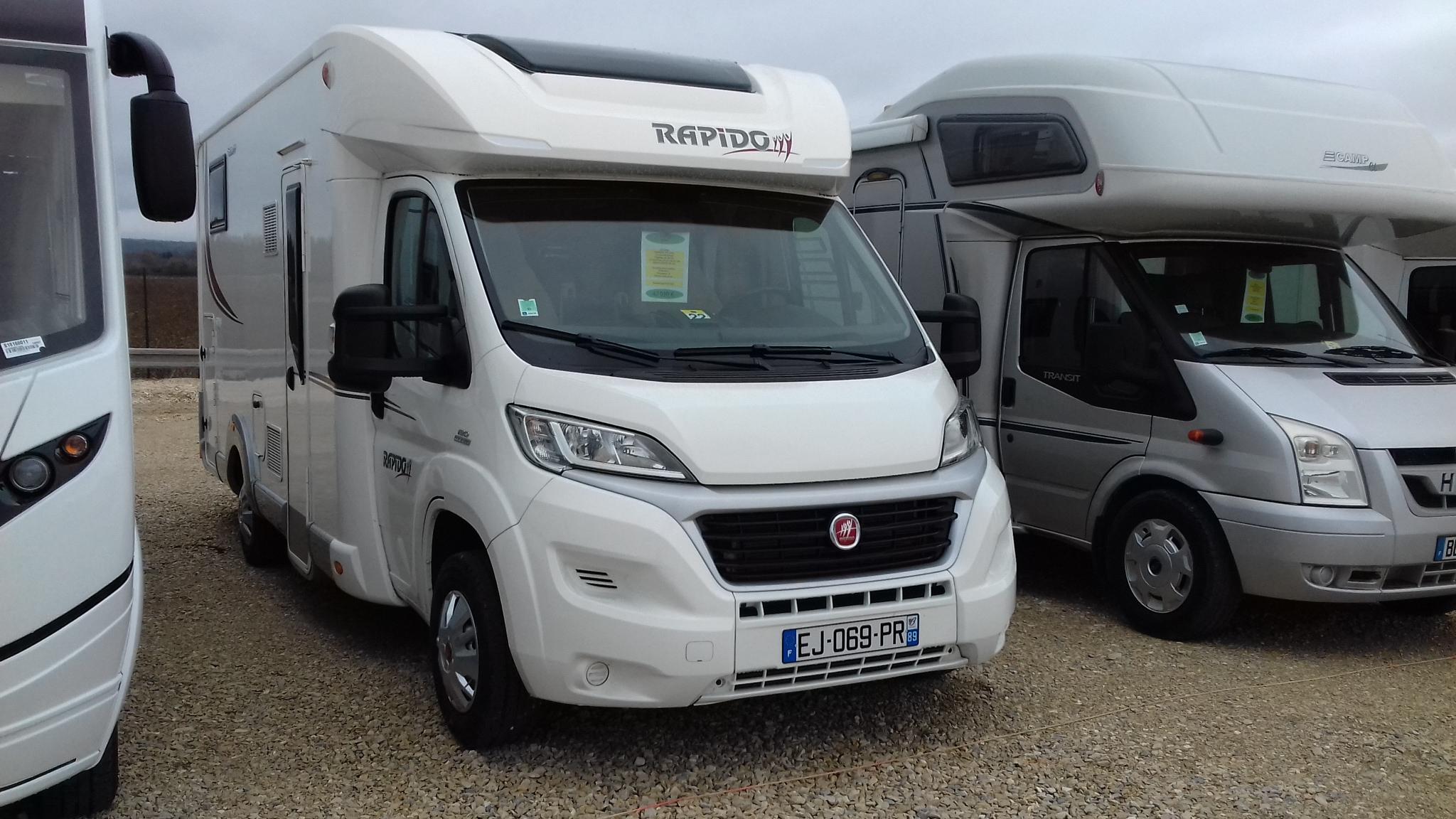 Rapido 680 ff occasion de 2017 fiat camping car en - Camping car rapido occasion lit central ...